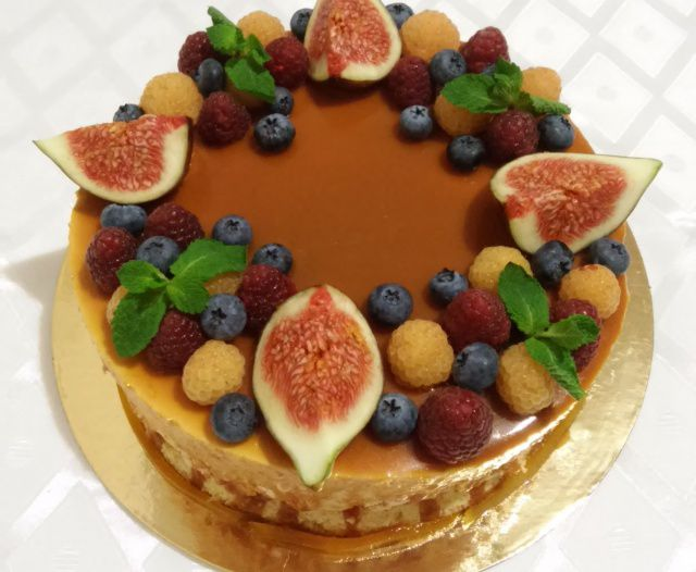 торт из фруктов на заказ смерти пожаров